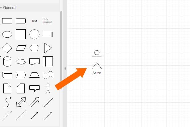 draw.ioでユースケース図を作成する